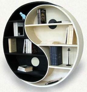 Ying Yang bookshelf